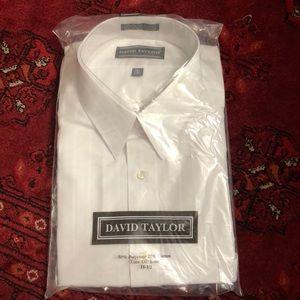 Men's shirt DAVID TAYLOR SIZE 18 1/2
